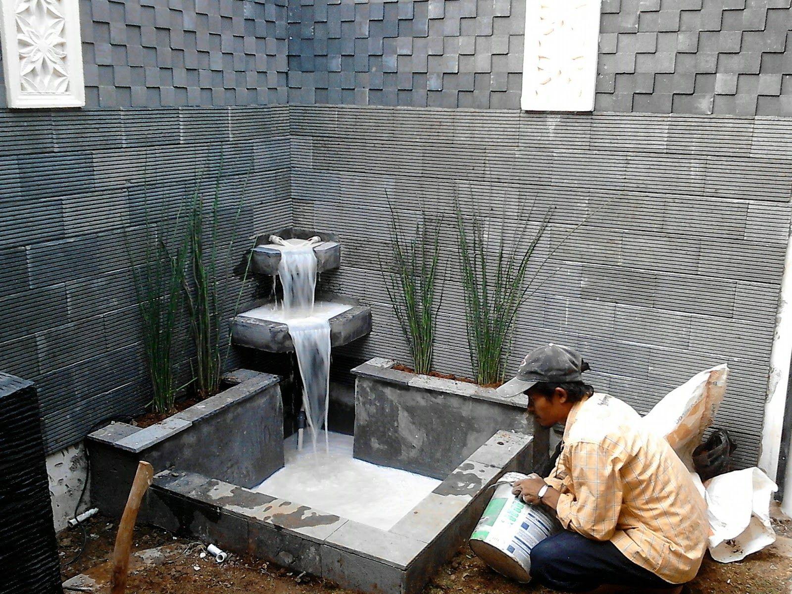 Persiapan Pembuatan Kolam Koi